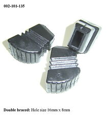 Rubber Feet for LARGE DOUBLE BRACED Drum / Cymbal Stands (Set 3) 002-101-135