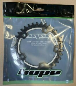 Hope Narrow Wide Retainer Chainring, 110bcd, 5 Bolt, Black EB17