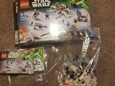 Lego Star Wars 75014 Battle of Hoth Complete Boxed Luke Skywalker