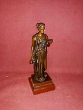 Antique Classical Female Bronze Sculpture Grand Tour