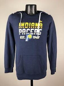 Women's Adidas Indiana Pacers Navy Blue NBA Basketball Sweatshirt Hoodie Small
