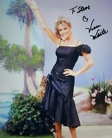 VANNA WHITE Hand Signed Photo 8 x 10 Color Authentic Autograph To Steve