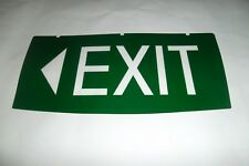 """Emergency Exit Light Exit With LEFT FACING Arrow  Replacement INSERT ONLY """"New"""""""