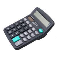 FJ- EG_ Student Portable Solar Power 12 Digits Scientific Calculator Striking