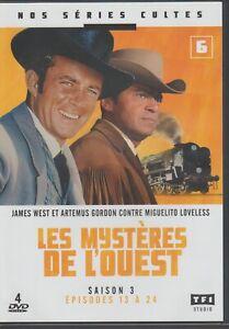 Les Mysteres De L'ouest Saison 3 Partie 2 Dvd Episodes 13 à 24