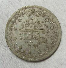 1293 Turkey  Silver 20 Kurush   #102193