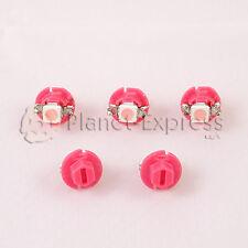 5 x Bombillas 1 LED SMD Rosa B8.4D T5 B8.4 Salpicadero cuadro. Bombilla interior