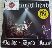 "Motorhead ""Double-Dyed Japan"" CD Tarantura"