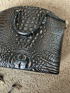 ❤️ NWT BRAHMIN Large Duxbury Leather Satchel Dusk Melbourne Handbag $295