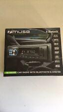 Autoradio Numerique USB/SD/BLUETOOTH MUSE M-199 BT Fonction Kit Mains Libre
