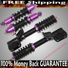 PURPLE Coilover Suspension Kits fits 2002-2005 Acura RSX BaseLType-S Coupe 2D