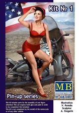 MB Master Box Pin-Up Girls Mädchen Figuren 1:24 Bausatz Model Kit Art 24001