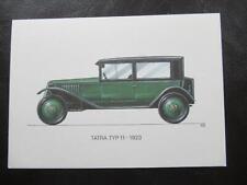 AK Tatra Typ 11 1923-Oldtimer ungelaufen