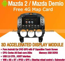 """8"""" Android Car DVD Player GPS Navigation Wifi 3G for Mazda 2 Demio Touch Screen"""