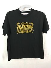 ALL BETS OFF Youth Size Large T-Shirt Nothing Gold Can Stay San Francisco GLOOM