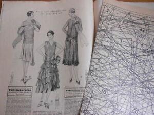 Vintage Modeheft 13/1928 Vobachs Familienhilfe mit Schnittmusterbogen