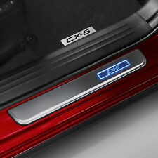 New Genuine Mazda CX-5 KF Illuminated Scuff Plate Set Accessory Part KF11ACSP