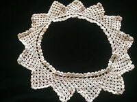 Antique Collar For DIY Floral Bridal Art Sewing Costume Design French Dolls