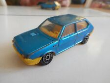 Dinky Toys Fiat Ritmo in Blue/Yellow on 1:43