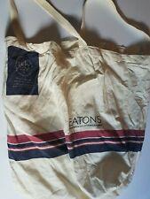 Eaton's Department Store Cloth Reusable Bag Vintage