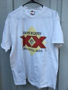 DOS EQUIS XX BEER T- SHIRT SIZE XL