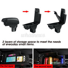 Car Central Armrest Console Storage Box Handrails USB For Nissan Juke