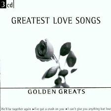 GREATEST LOVE SONGS 3 CD  GOLDEN GREATS 75 ORIGINAL EASY LISTENING VINTAGE HITS