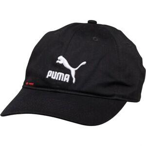 Puma Mens Logo BB Black/White/Red Cap New