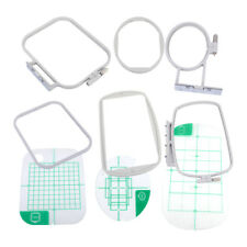 3Pcs Embroidery Hoops Set Kit for Brother SE350 SE400 PE500 Machine Sewing Tools