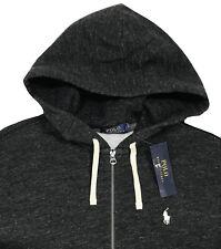 Men's POLO RALPH LAUREN Charcoal Gray Hoodie Hooded Sweatshirt M Medium NWT NEW