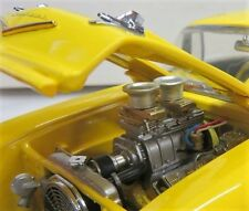 CHEVY 1957 Dragster Arrastre Coche De Carreras 12 Hot Rod 64 Carousel YELLOW 1