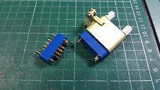 EX MOD 7 Pin Connettori D-Sub, contatti placcati in oro, maschio/donna D-SUB Conn.