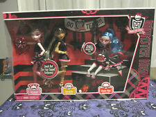 Monster High Fear Squad 3 Pack Ghoulia, Draculaura Cleo De Nile NIB Discontinued