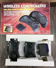 Sega Genesis Wireless Controllers Docs In Box Tested Works Great!