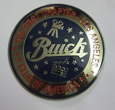 BUICK CLUB OF AMERICA CAR GRILL BADGE EMBLEM LOGOS METAL ENAMLED PORSCHE FERRARI