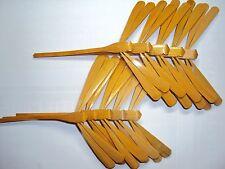 10 pcs Handmade Bamboo Balancing Dragonfly -Unpainted -natural varnish - 4.7''