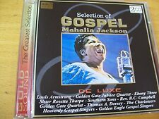 MAHALIA JACKSON SELECTION GOSPEL DCD GOLD SOUND