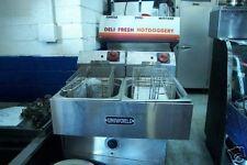 Uniworld New C/Top Elec. Fryer, Double Tank 115 Volts