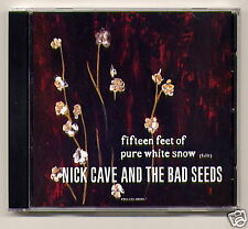 """NICK CAVE """"Fifteen Feet of Pure White Snow"""" CD promo"""