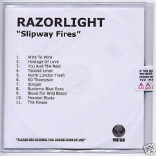 RAZORLIGHT Slipway Fires UK numbered promo CD sealed