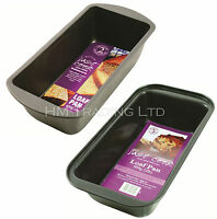 1LB 450g OR 2LB 900g Non Stick Loaf Pan Baking Fruit Cake Bread Tin Oven Tray