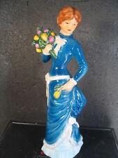 Goebel GARDEN FANCIER Woman Tulips Tmk 6 1979-1990