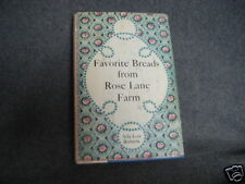 FAVORITE BREADS ROSE LANE FARM ADA LOU ROBERTS 1960