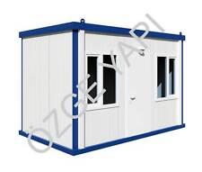 Bürocontainer Baucontainer Wohncontainer Container Schlüsselfertig 4,00m x 2,40m