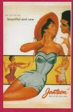 """A  """"Jantzen Swimsuits""""  Vintage Repro Advertising Picture Postcard - 287"""