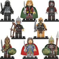 Knight Military Army Castle Minifigure for Lego Minifigures Ninjago Lloyd Figure
