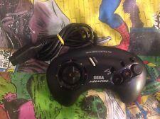 Sega Mega Fuego controlador de Turbo Mega Drive-leer descripción
