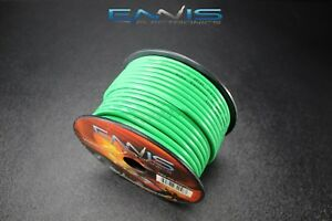 10 GAUGE WIRE ENNIS ELECTRONICS 100 FT GREEN PRIMARY STRANDED AWG COPPER CLAD