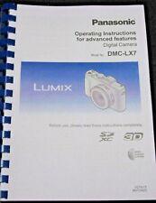 Panasonic DMC-FZ2000 Full Color guía manual del usuario impreso de 345 páginas A5
