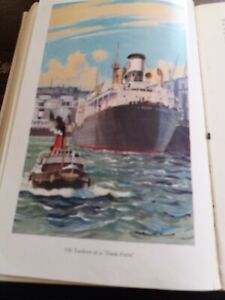 Oil Tankers at a Tank Farm c.1950s Book Print Mounted